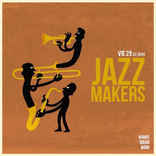 jazz makers nanas